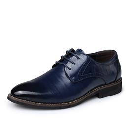 Leather Shoes Men Lace up Business Men's Shoes Men Dress Shoes