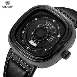 Watches for Men Top Brand Leather Men Watch Quartz Wristwatch Fashion Sports Watch