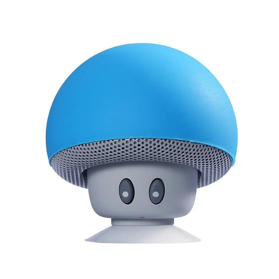 Mini Speakers Mushroom Wireless Bluetooth Speaker Portable Waterproof Bass Stereo Speaker With Mic For Mobile Phone PC PVS07, Support 99% of bluetooth-enable
